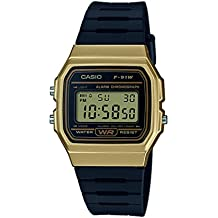 Casio Collection – Reloj Unisex Digital con Correa de Resina – F-91WM-9AEF
