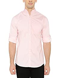 nick&jess - Camisa casual - camisa - cuello mao - Manga Larga - para hombre