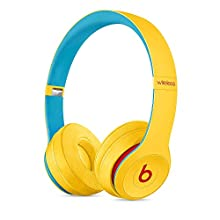 Beats Solo3 Wireless On-Ear Headphones - Apple W1 Headphone Chip, Class 1 Bluetooth, 40 Hours Of Listening Time - Club White (Previous Model)