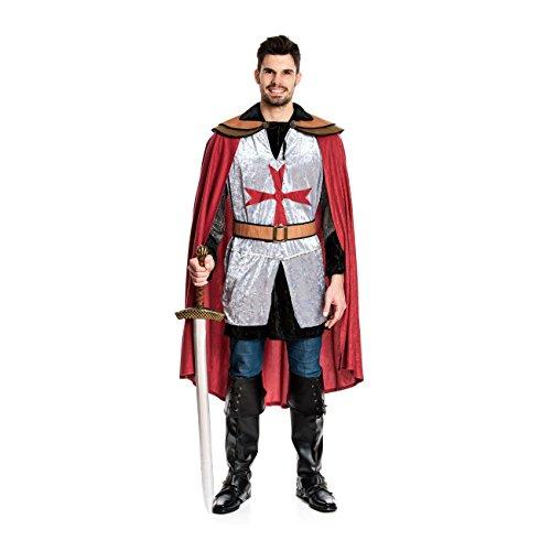 faschingskostuem ritter Kostümplanet Ritter-Kostüm Herren Deluxe Tempel-Ritter Faschingskostüm Größe 56/58