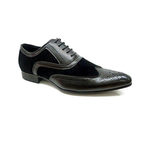 #MaronaShoes , Chaussures de ville à lacets pour homme Noir