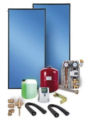 Solaranlage Flachkollektor Komplettpaket Solar SX 2.0 4,04 m² Solarthermie Solarpaket Warmwasser