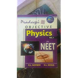Pradeep's objective physics for nEET vol.I & Vol.II