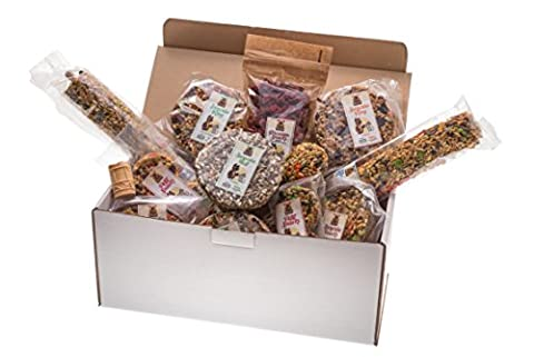 Surprise box XXL–Set of 14Popular Snacks and Treats for Rodents and Rabbits. Over 2000gr High Quality Nutrition.