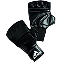 adidas Guantes de entrenamiento, Speed, Unisex adulto, Speed Gel Bag Glove Punchinghandschuhe, negro - negro