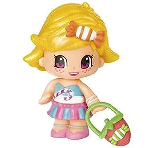 Poupée 7 cm Pinypon : Bonbon cheveux blonds