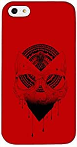 Timpax Protective Hard Back Case Cover With access to all controls and ports Printed Design : A red mask.Exclusively Design For : Apple iPhone 4 / 4S