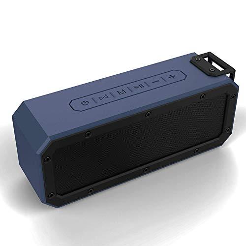 Altoparlante Bluetooth, altoparlanti wireless portatili WilsonMusic da 40 W con microfono, IPX7 impermeabile, TWS, 3 modalità EQ, 15 ore di riproduzione per feste, doccia, viaggi, spiaggia, esterno