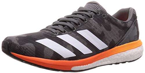 Adidas Adizero Boston 8 Grey Four F17/Ftwr White/Flash Orange