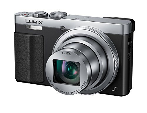 Panasonic DMC-TZ71EG-S Lumix Kompaktkamera (12,1 Megapixel, 30-fach opt. Zoom, 7,6 cm (3 Zoll) LCD-Display, Full HD, WiFi, USB 2.0) silber