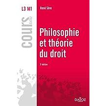 Philosophie et théorie du droit (Cours) (French Edition)