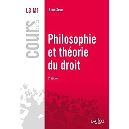 Philosophie et théorie du droit - 2e éd.