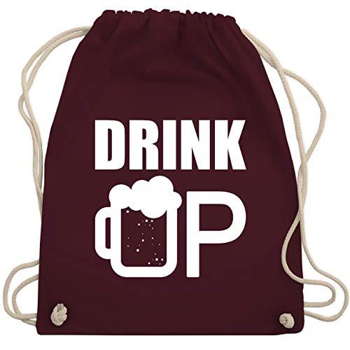 St. Patricks Day - Drink up - St. Patricks Day - Unisize - Bordeauxrot - WM110 - Turnbeutel & Gym Bag (Saint Rose Kostüm)
