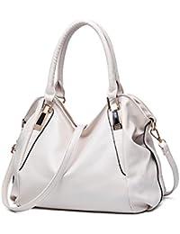 VECHOO Damen Handtaschen weiches Leder Henkeltaschen weibliche Schultertasche Elegante Umhängetasche