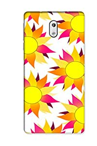 SRS Flower Vintage White 3D Back Cover for Nokia 3