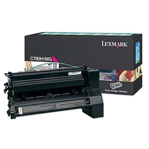 Preisvergleich Produktbild Lexmark Toner für C780/C782 Kapazität 10.000 Seiten, magenta