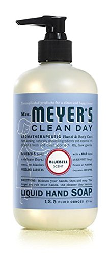 Mrs Meyers B00086 Bluebell Liquid Hand Soap 12.5 Oz by Mrs. Meyers