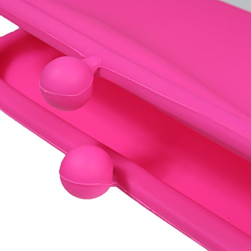 kilofly Candy Color Soft Silicone Portamonete e multiuso Pouch Set set2D
