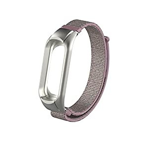 Für XIAOMI MI Band 3 Armband,Colorful Leichtes Nylon Ersatzband Uhrenarmband Einstellbar Ersatz Armband Sportband für XIAOMI MI Band 3