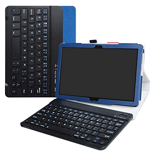 Labanema Huawei MediaPad M5 Lite 10 Teclado Funda