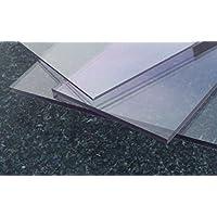 Polycarbonat beids. UV Platte farblos 1000 x 600 x 2 mm Zuschnitt PC alt-intech®