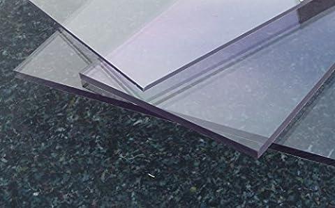 Plaque Polycarbonate Uv - Plaque Polycarbonate UV différentes Tailles, épaisseurs, transparente