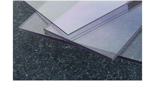 Polycarbonat Platte 600 x 500 x 3 mm Milchglas 30 /% Lichtdurchl/ässigkeit Zuschnitt alt-intech/®