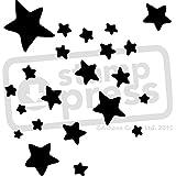 A4 'Estrellas' Plantilla de Pared / Estarcir (WS00012109)