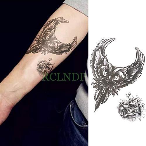 emporäre Tattoo Aufkleber Sartora Gefälschte Tato Flash Tato Körper Kunst Hinteren Bein Arm Arm Bauch Große Größe Für Eine Frau Und Einen Mann Army Green ()