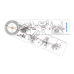 Winkelmesser | Gelenkmesser | Goniometer aus ACRYL | Deluxe Line