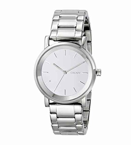 DKNY ny2177 Silver Steel Bracelet & Case Mineral Women's Watch