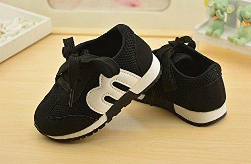 Lässige flache Turnschuhe für Baby Jungen Mädchen - cinnamou Kleinkind Kinder Sport Laufschuhe - Soft Outdoor Mesh Loafers Schuhe (Loafer Leder-leichte)
