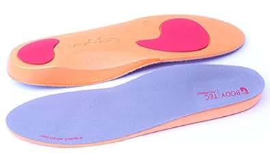 2paia di solette ortopediche Bodytec Arancione, arancione (Orange), XL