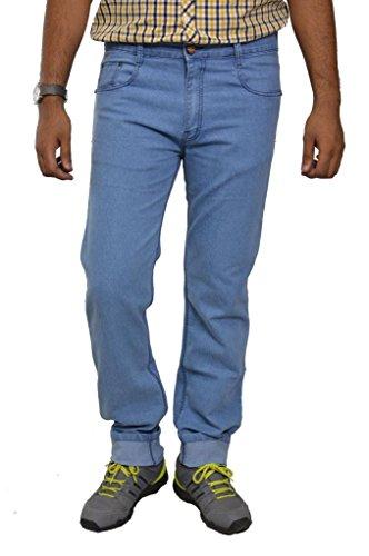 Studio Nexx Men's Denim Regular Fit Jeans -Light Blue, (36)  available at amazon for Rs.663