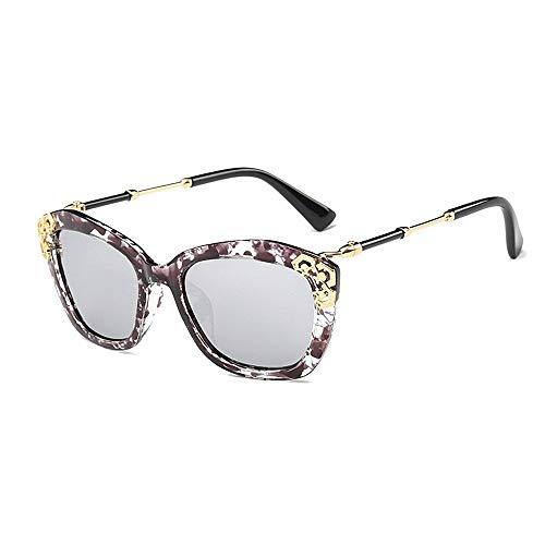 XHCP Frauen polarisierte Klassische Fliegersonnenbrille, anmutige polarisierte Sonnenbrille für Frauen Klassische Sonnenbrille Brillen der Dame UV-Schutz umrandete Sonnenbrille für das Fahren Rei