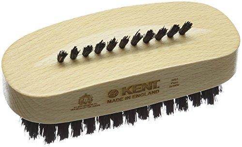 Kent Noir naturel Pinceaux en poils de brosse à ongles en bois de hêtre