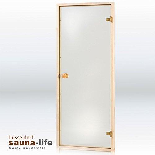 """Preisvergleich Produktbild Saunaglastür """"GLASHAUS 6 x 19 Klarglas"""""""