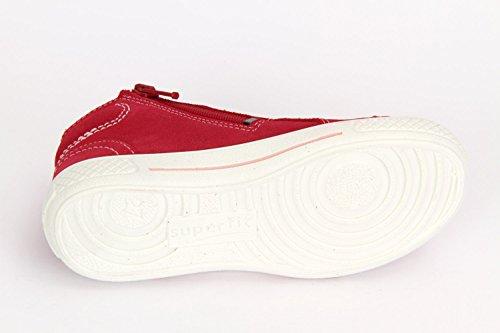 Superfit, Mädchen, Hohe Sneakers, Tensy ( Pink Kombi ) Rot (Pink kombi)