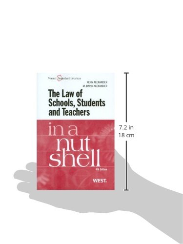 Alexander and Alexander's Law of Schools, Students and Teachers in a Nutshell, 4th