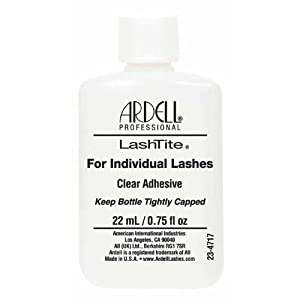 Ardell Professional Lashtite For Individual Eyelash Clear Adhesive 22ml / 0.75 fl.oz.