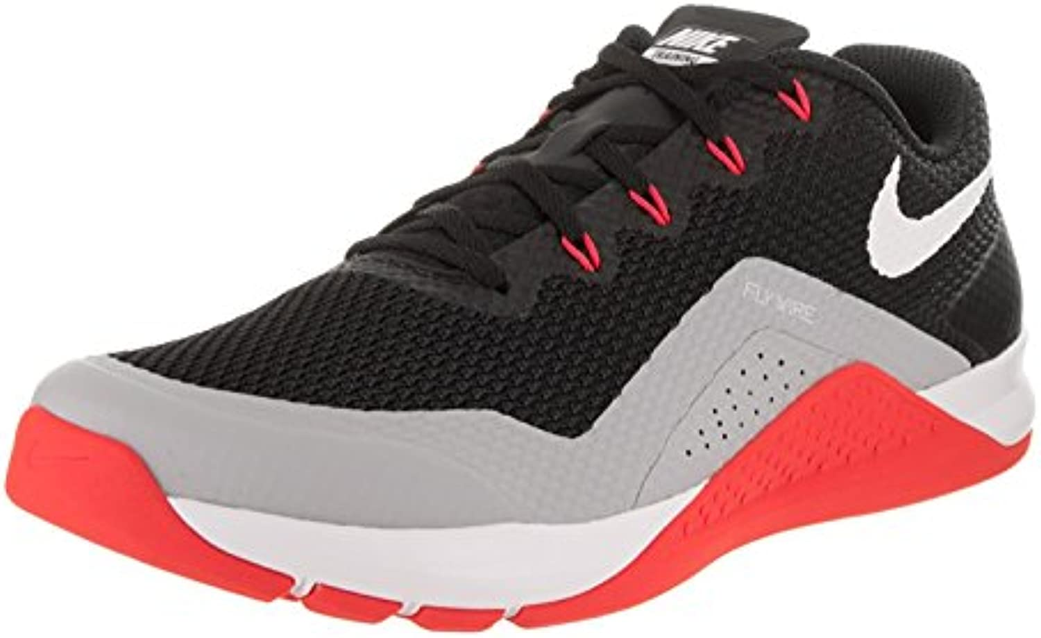 Nike Repper DSX Black/White/Wolf Grey/Bright Crimson Men's Cross Training Shoes, Black/White Wolf Grey, 42.5 D...