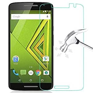OPUS Tempered Glass For Moto X Play (Buy 1 Get 1 Free)