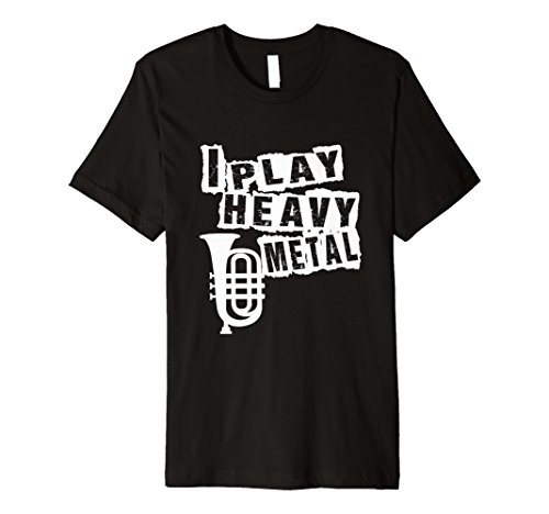 Funny Heavy Metal T-Shirt Tuba Musik Lehrer ()