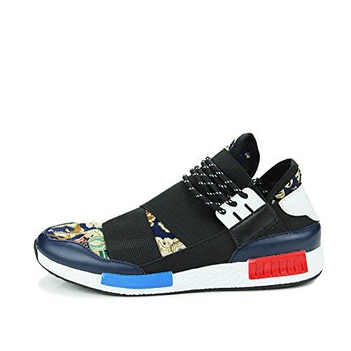 Hommes sport chaussures chaussures de course de Forrest Gump Blue