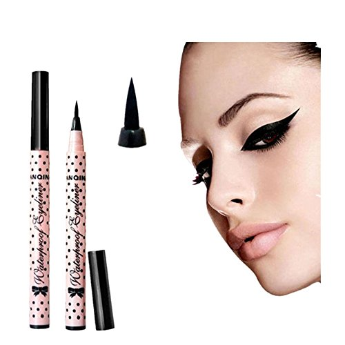 tefamore-lapiz-delineador-maquillaje-cosmetico-negro-rosa-liquido-ojo-liner-herramienta