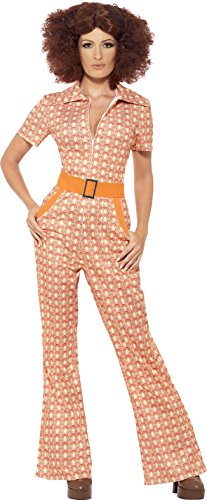 Plus Size 1970s Jumpsuit Disco Costume for Women.
