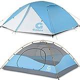 Gonex Tenda da Campeggio, Tenda a Cupola per 3-4 Persone, Antivento e Impermeabile per 3 Stagioni, Perfetta per Campeggio, Trekking, Escursioni con Zaino in Spalla e Alpinismo, Facile da Montare