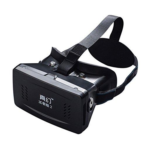 Andoer®  head-mounted portable google cartone 3d versione vr occhiali realtà virtuale diy 3d vr occhiali con csy-01 mini multifunzionale senza fili bluetooth v3.0 selfie camera gamepad shutter per iphone samsung / tutte le