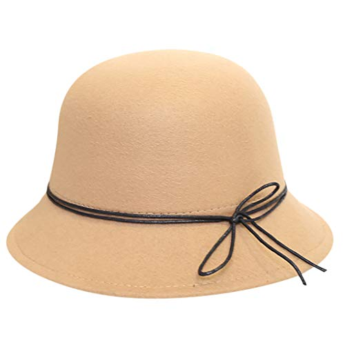 Yvelands Cap Hut Wollfilz Outback Hut Panamahut breiter Rand mit Gürtel mütze