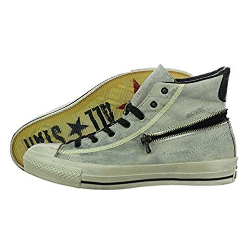 "Converse John Varvatos ""Chuck Taylor"" Zip Hi Turtledove/Black Men's Shoes 10"